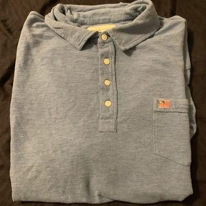 Polo denim and supply shirt